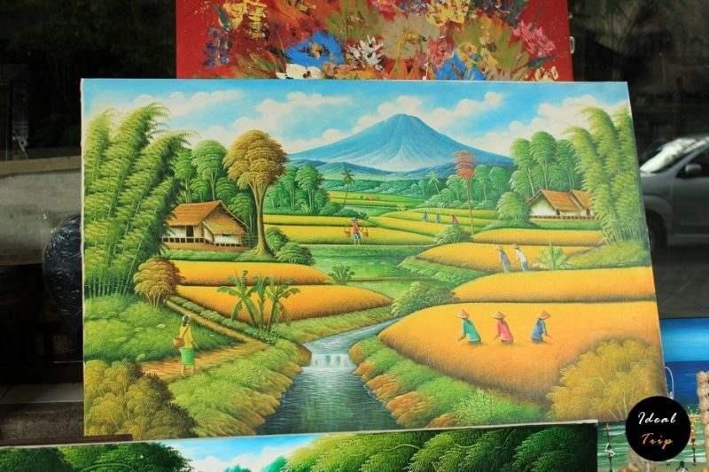 Картина на Бали