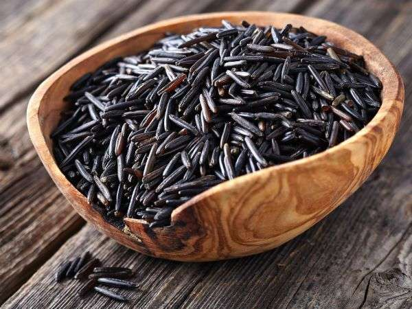 Черный рис фото