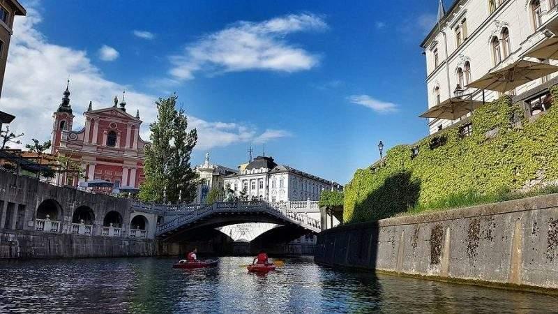 Любляна - столица Словении