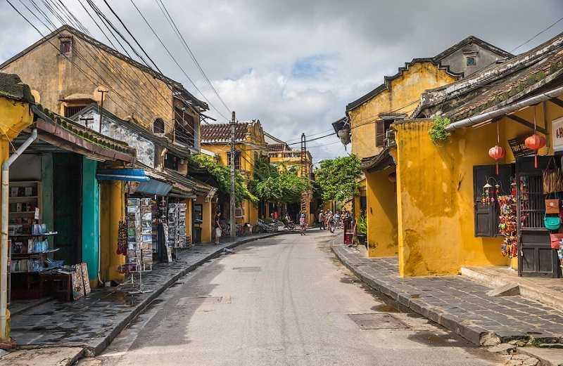 город Хойан Старый город