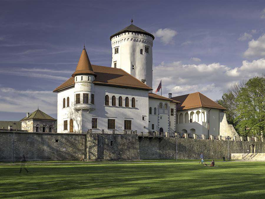 Будатинский замок, Словакия