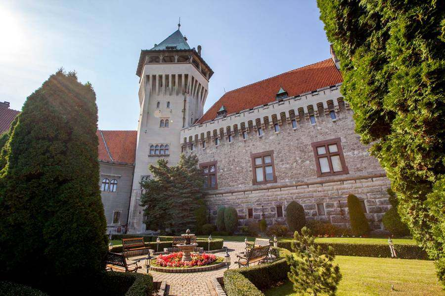 Замок Смоленице, Словакия