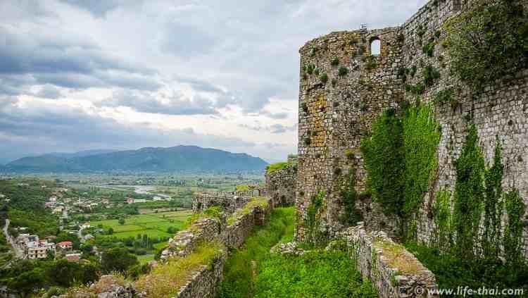 Крепость Розафа, Албания