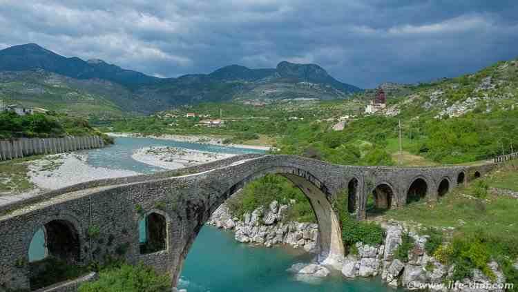 Османский мост в Месе, Шкодер, Албания