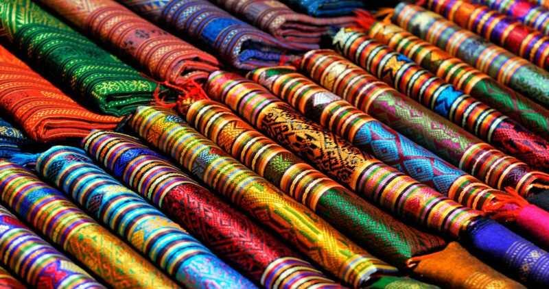 Выбор ткани в Камбоджи