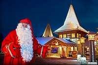 где находится деревня Санта-Клауса в Финляндии?