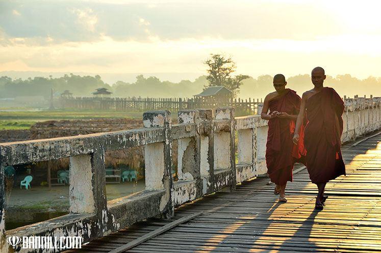 Мост У-Бейн в Амарапуре