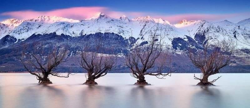 Новая Зеландия зимой