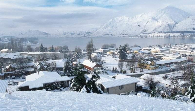 города зимой