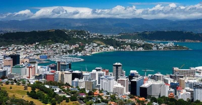 фото Веллингтона в Новой Зеландии