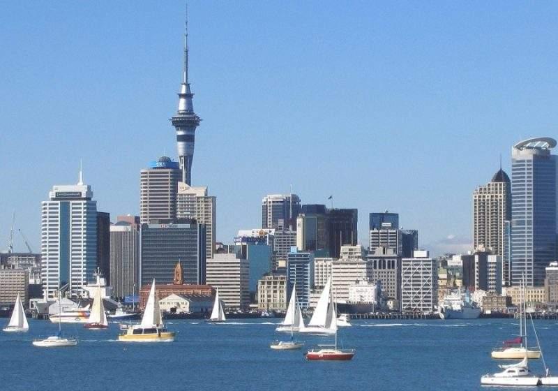 Окленд, столица Новой Зеландии