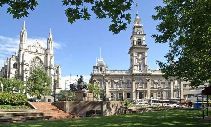 фото зданий Викторианской эпохи в Новой Зеландии