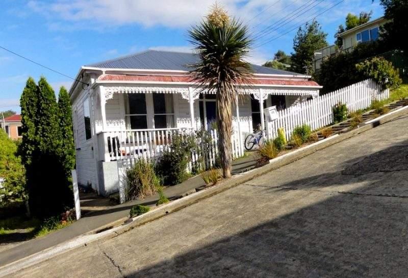 фото Болдуин-стрит в Новой Зеландии