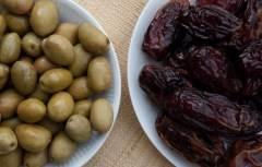Оливки и финики в Тунисе
