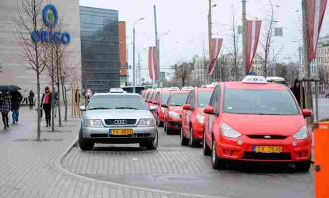 Такси в Латвии