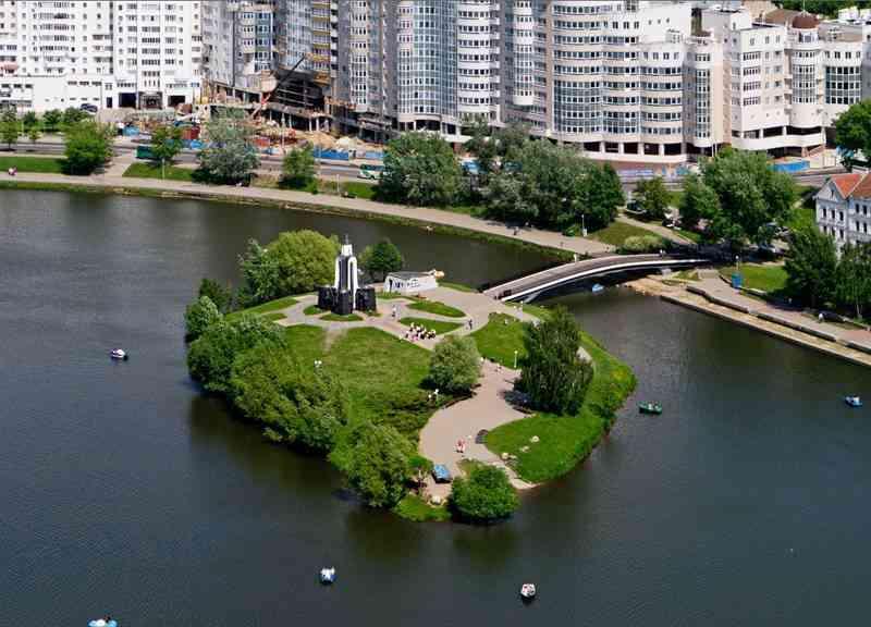 Мемориал Остров слез в Минске