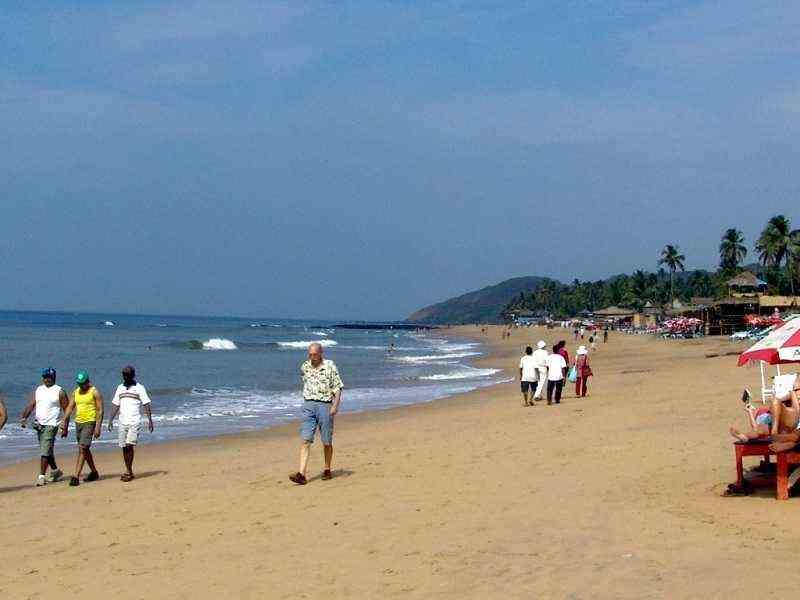 Анджуна пляж