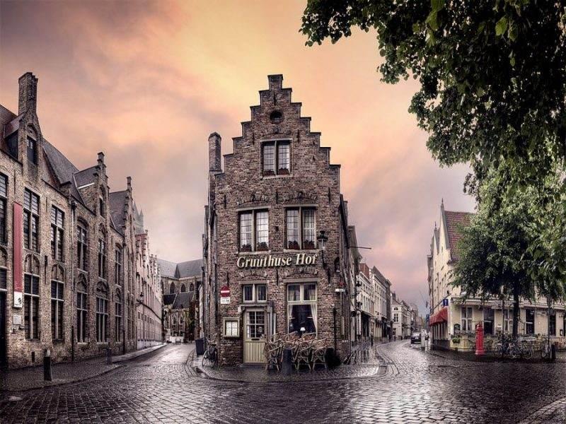 Фото архитектуры Бельгии