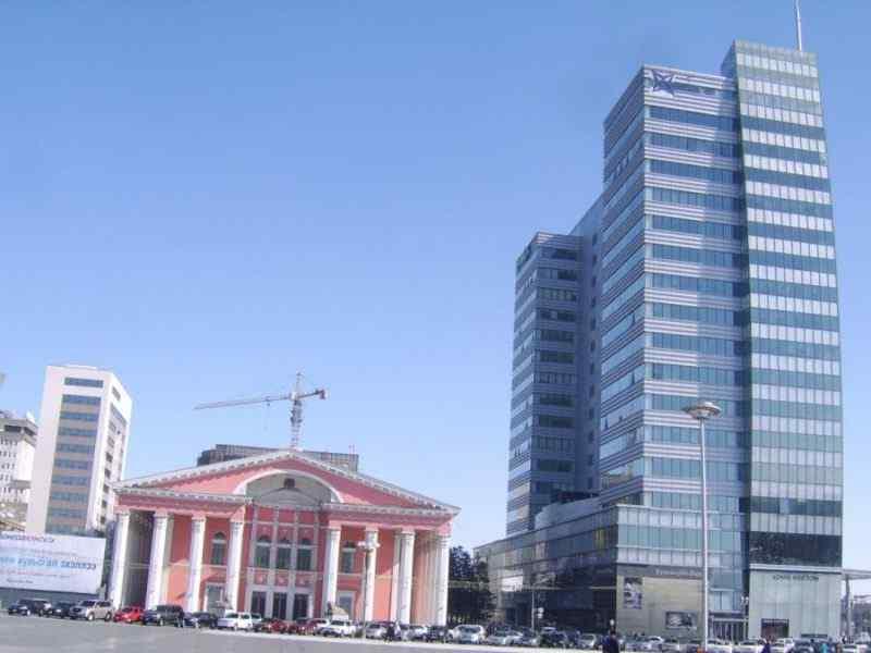 Фото центра города Дархан