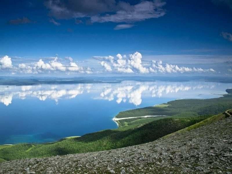 Фото озера Хубсугула