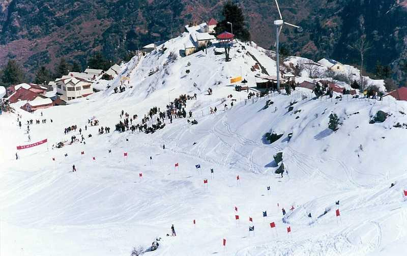 Индия горнолыжный курорт