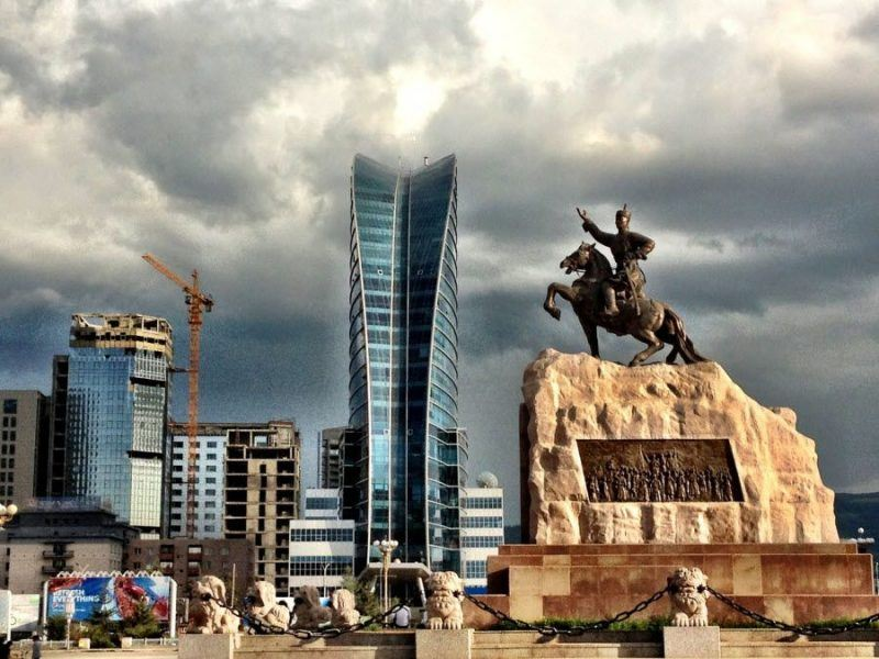 Фото столицы Монголии – Улан-Батора
