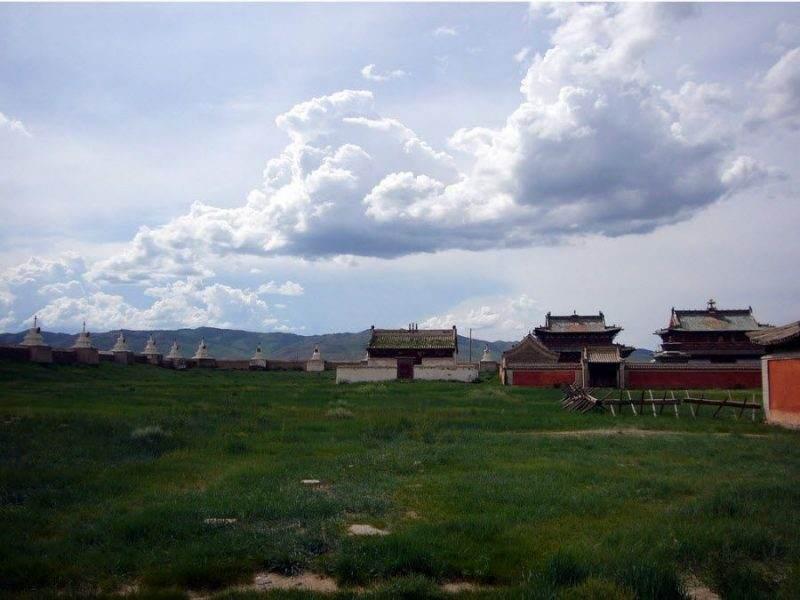 Фото панорамы на город Каракорум