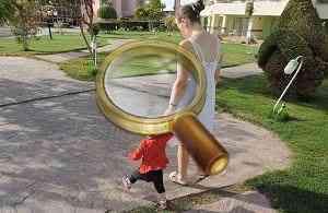 Ребёнок на курорте