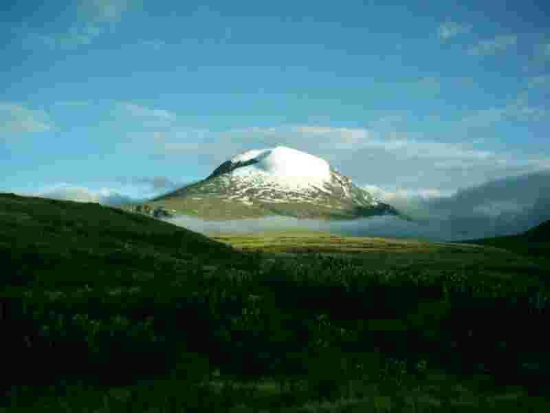 Фото природы окружающей Дархан в Монголии