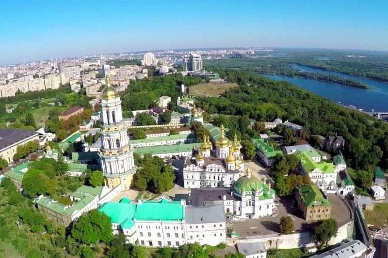 Киево-Печерская Лавра в Украине