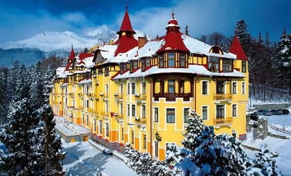 Grandhotel Praha - Татранска Ломница