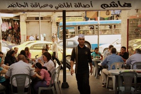 Уличное кафе в Аммане