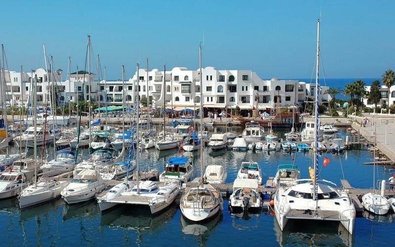 Порт Эль-Кантауи - курортная столица гольфа в Тунисе