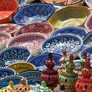 посуда из Туниса