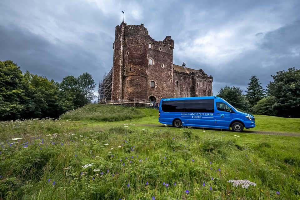 Из Эдинбурга полный тур «outlander» explorer