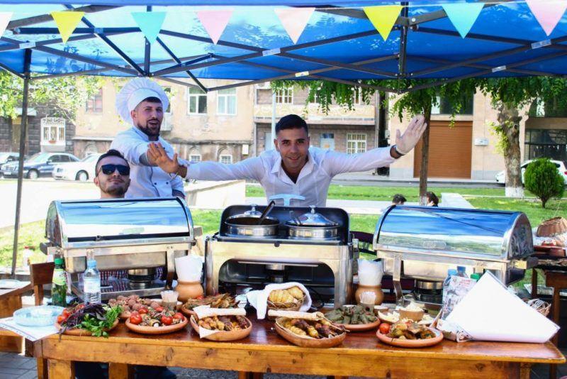Фестиваль еды в Ереване