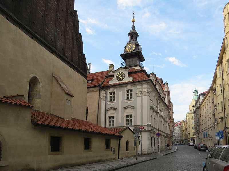 Еврейская ратуша, Еврейский квартал, Прага