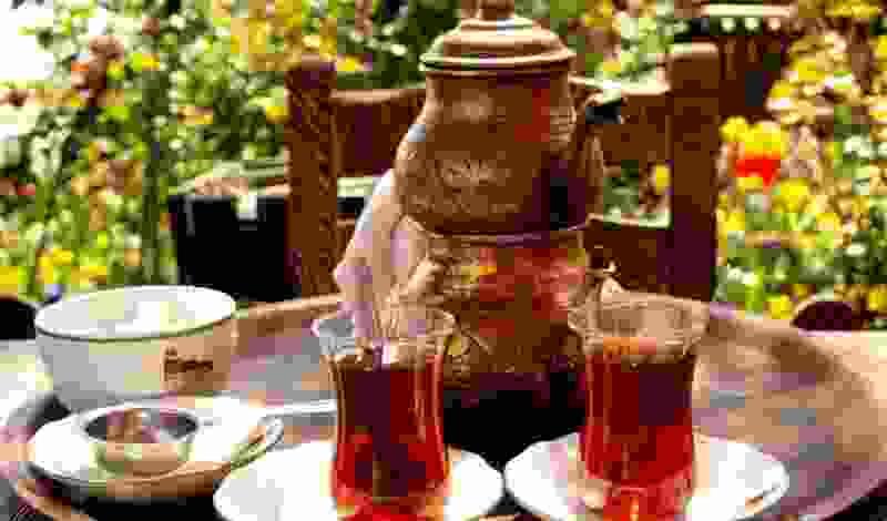 Чай как пример подарка для взрослых из Турции