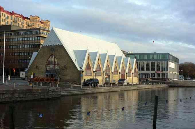 Feskekorka (Fish church) in Gothenburg