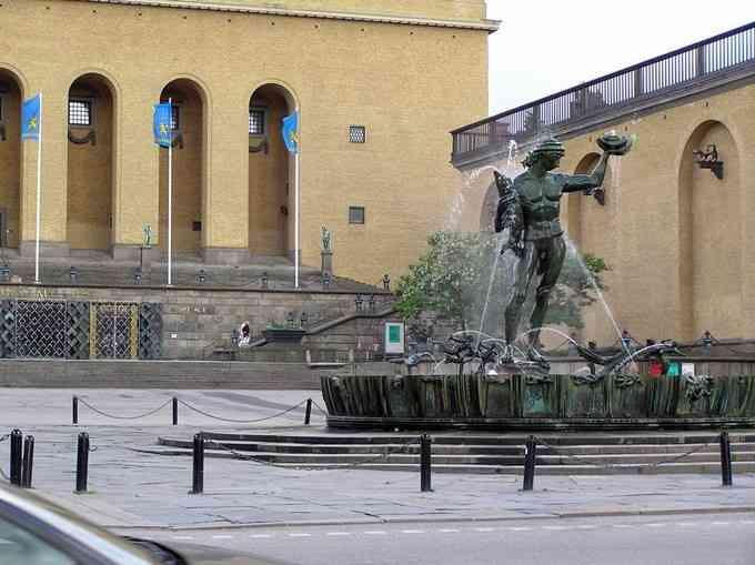 Goteborg-eko plaza famosoena