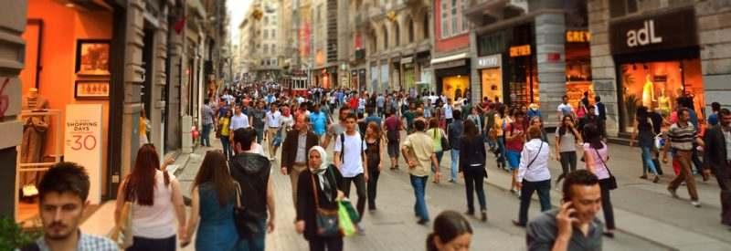 Истикляль - главная торговая улица Стамбула