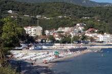 Пляж Лазарет в районе Мелинье