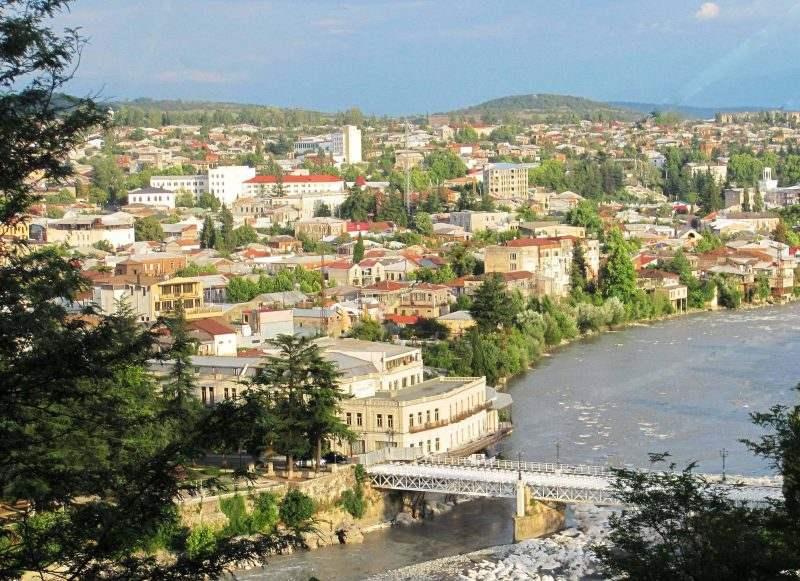 Выд на Кутаиси и Белый мост