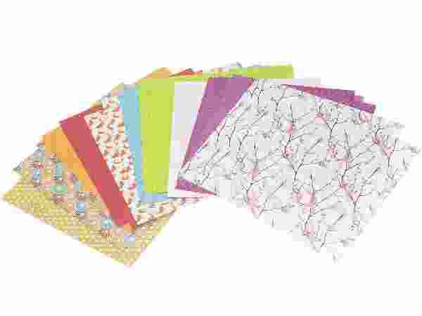 Набор бумаги для оригами фото