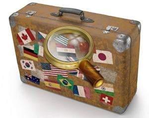 Небольшой чемодан - идеальное решение