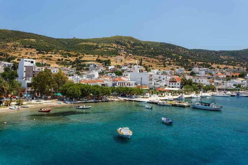 Остров Эвия в Греции