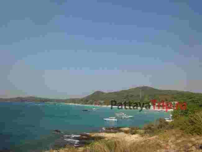 Панорама пляжа Хат Сай Кео