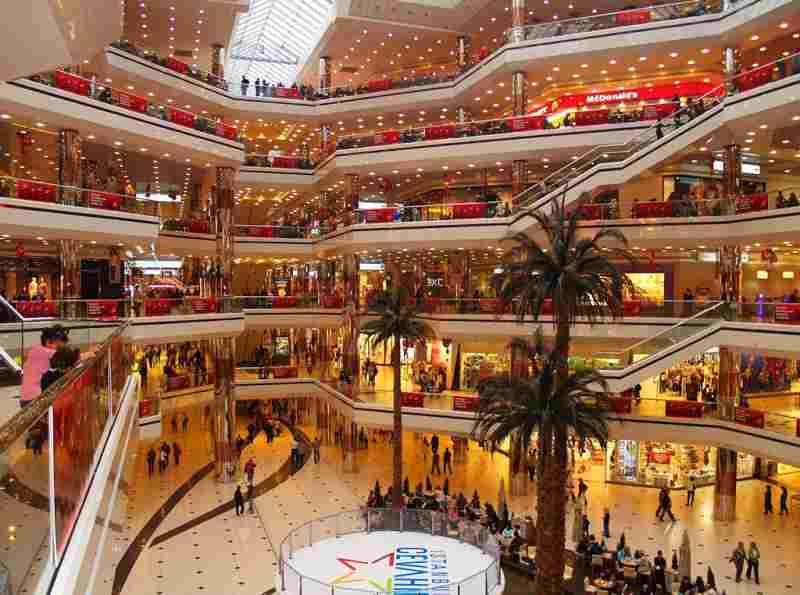 Торговый центр Акмеркез в Стамбуле
