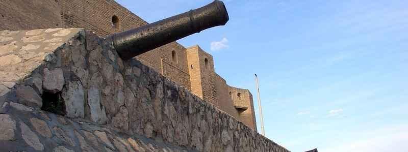 Пушки крепости Касба в Суссе