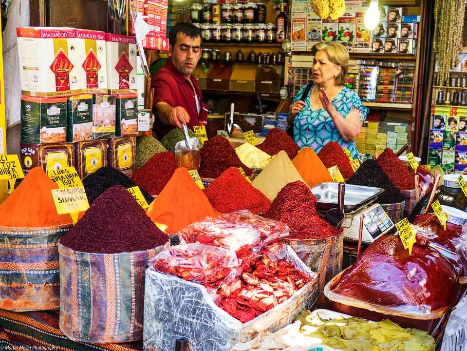 Базар пряностей в Стамбуле
